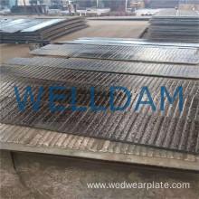 bimetal anti abrasion resistant plate for dragline bucket